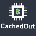 cheap electronics cached out logo